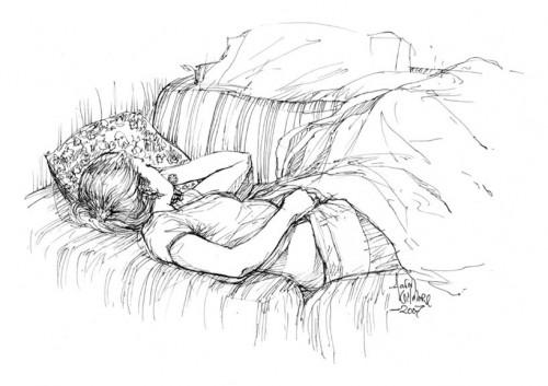 rael_sleeping